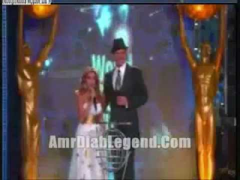Razan El Moghrabi & Amro Diab - World Music Awards 2007