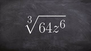 Simplifying a radical ęxpression using rational exponents