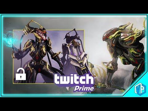 Warframe: Get A FREE Trinity Prime With TWITCH PRIME