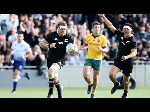 Bledisloe Two: New Zealand Vs Wallabies Highlights