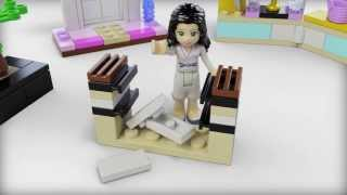 Lego Friends | 41002 | Emmas Karate Class | Lego 3d Review