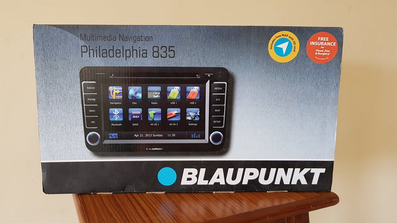 blaupunkt philadelphia 835 review youtube. Black Bedroom Furniture Sets. Home Design Ideas