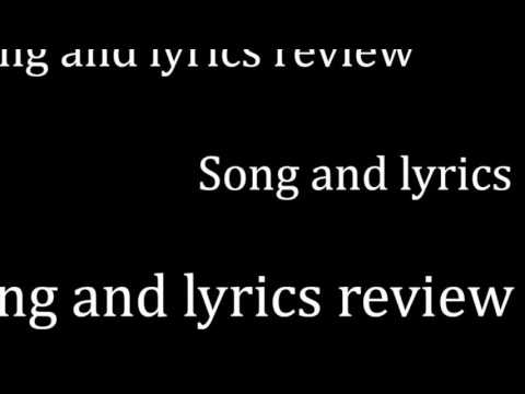 OneRepublic - All These Things Lyrics and Song Review