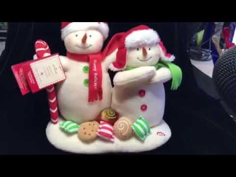 2008 Hallmark Buddies Snowmen Singing Plush