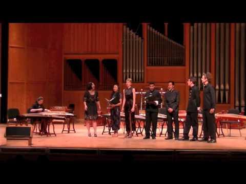 FSU Chinese Music Ensemble 4-2-13  PART ONE