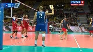 Волейбол  ЧЕ  Мужчины  Россия Чехия  21 09 2013
