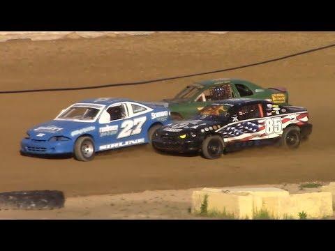 Mini Stock Heat Four | Old Bradford Speedway | 6-9-19