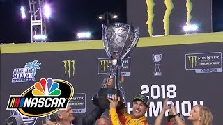 2018 NASCAR Cup Series: Joey Logano receives trophy | NASCAR | NBC Sports