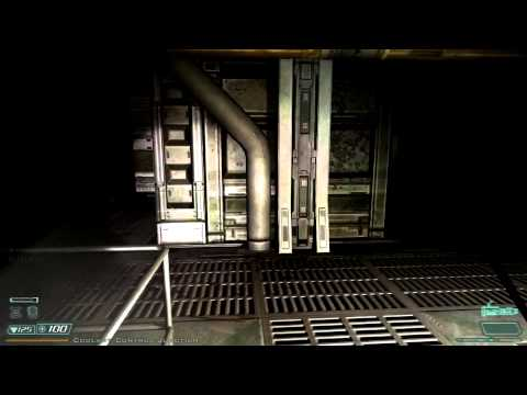 Doom 3 walkthrough - Alpha Labs - Sector 2