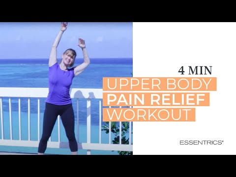 Essentrics mini workout for upper body pain relief