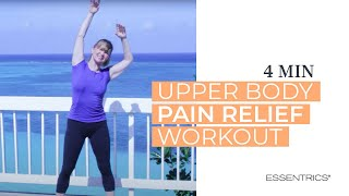 classical stretch mini workout for upper body pain relief