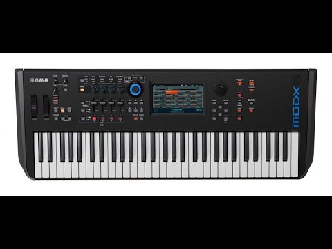 The new Yamaha MODX synthesizer | Yamaha Music London