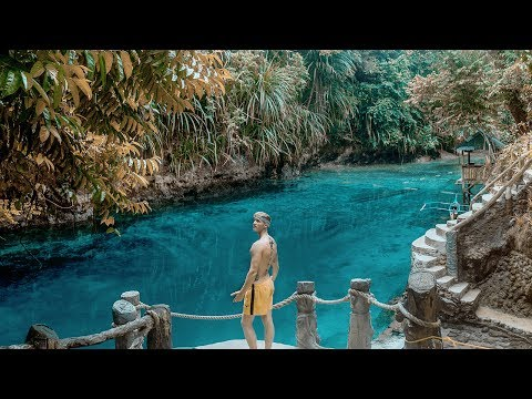 ENCHANTED RIVER // A Mindanao MUST SEE - Philippines