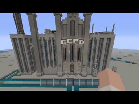Minecraft: Gotham City Part 9- Royal Hotel+New GCPD