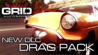 Grid Autosport - PS3/X360/PC - Drag Pack (Gameplay Video)