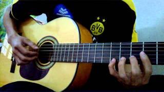 Tâm tình tri ân ~ guitar Huy béo :v