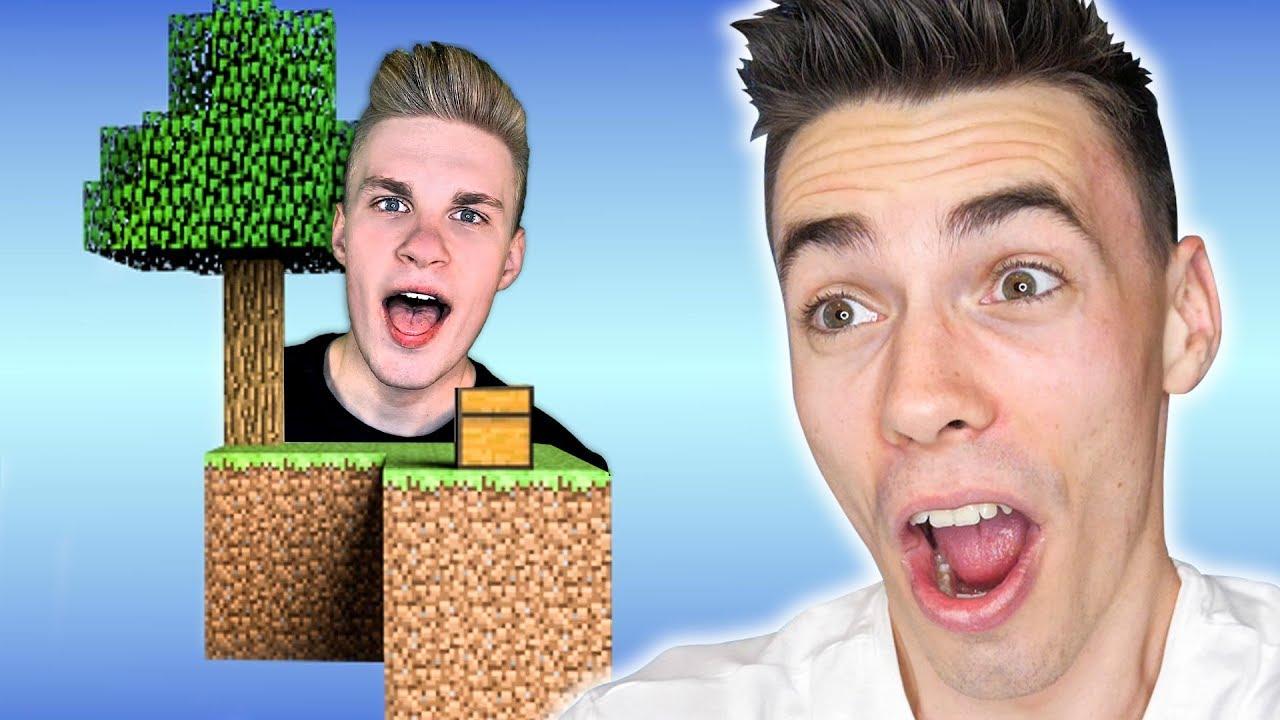 Minecraft SKYBLOCK z Abra *śmieszne*