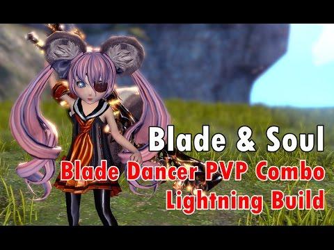 [Blade & Soul] พื้นฐานคอมโบหลินเบลดสายฟ้า Blade Dancer PVP combo