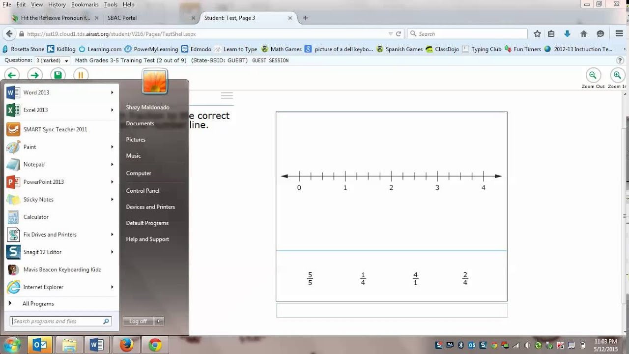 SBAC Math Practice for 3rd Grade - YouTube