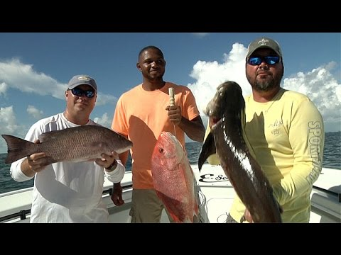 CCA STAR Offshore - Louisiana - Sportsman TV - Full Episode