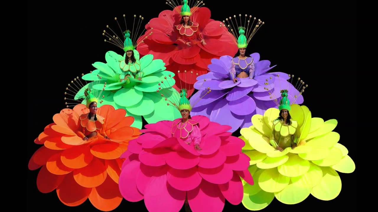 PARADE MAGIC FLOWERS - YouTube