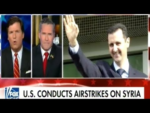 """That's Pure Propaganda!! WHY ARE WE IN SYRIA!"" Tucker Destroys War Profiteer Cheerleader"