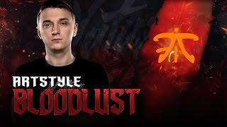 BLOODLUST: ArtStyle on Enigma vs Fnatic @ The Summit 5