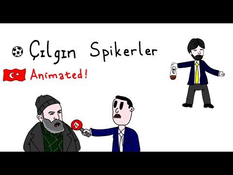 ÇILGIN TÜRK SPİKERLER (Animasyon)
