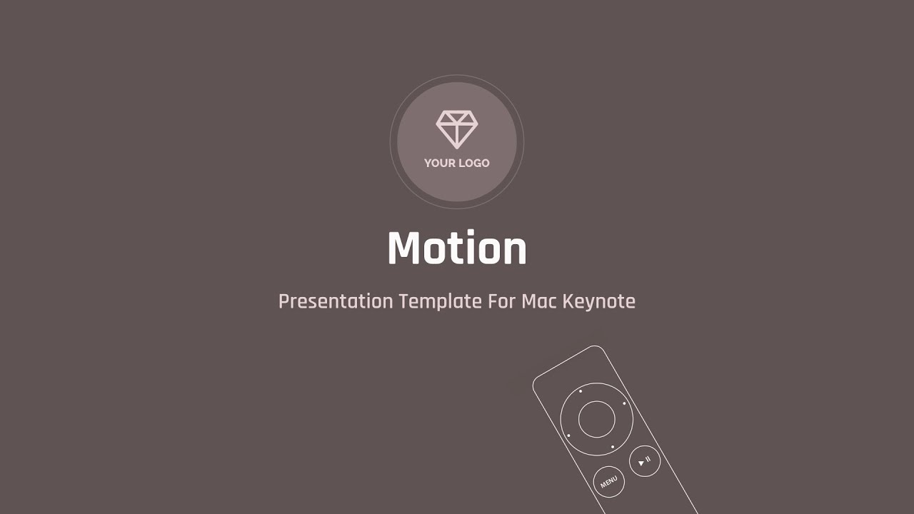 motion — creative multipurpose presentation template for mac, Presentation templates