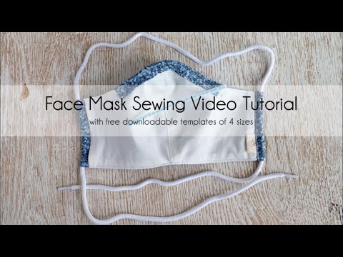 wine article Easy Diy Face Mask With Filter Pocket  No Sewing Machine