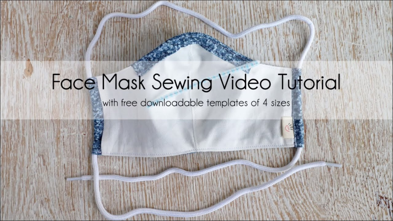 Facemask Pdf Face Mask Tote Bags Sewing Sewing Hacks
