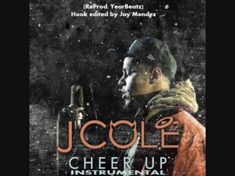 J. Cole - Cheer Up Instrumental with Hook