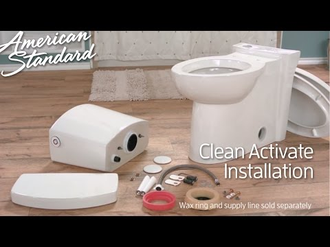 Touchless Toilet Install: Clean ActiVate Toilet By American Standard