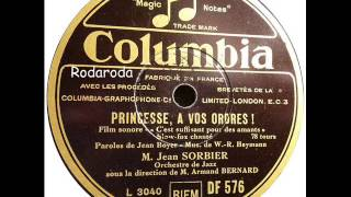 C´est suffisant pour des amants (Du hast mir heimlich die Liebe ins Haus gebracht)  Jean Sorbier