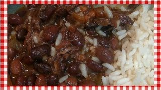 Classic Red Beans and Rice ~ Noreen