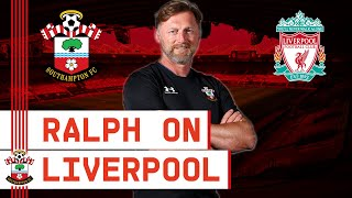 PRESS CONFERENCE: Hasenhüttl assesses Liverpool clash
