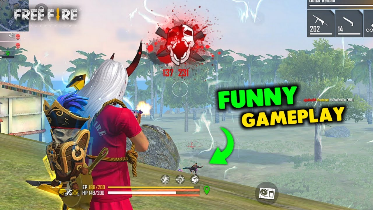 Funny Game with Amitbhai and Mania Must Watch Gameplay - Garena Free Fire