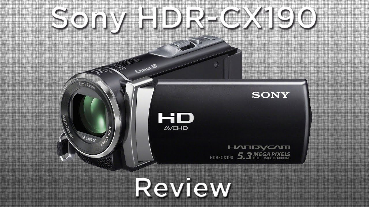 filmadora sony hdr cx190 full hd review youtube rh youtube com Test Sony HDR-CX190 Sony HDR-CX190 HD