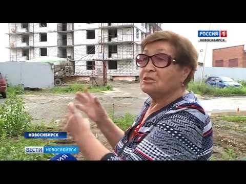 Жители улицы Зорге задыхаются от пыли со стройплощадки
