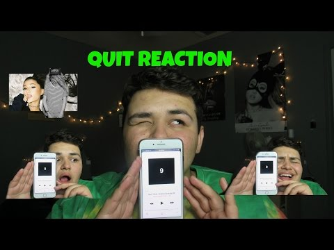 QUIT (feat. Ariana Grande) - Cashmere Cat - REACTION