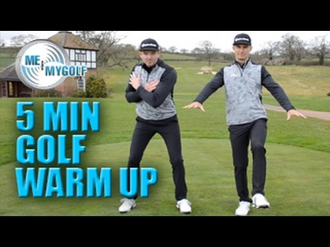 5 MINUTE GOLF DYNAMIC WARM-UP