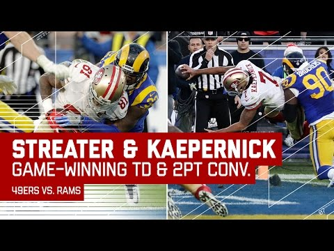 Kaepernick Hits Streater for the TD & Runs in 2-Point Conversion for the Win! | NFL Wk 16 Highlights