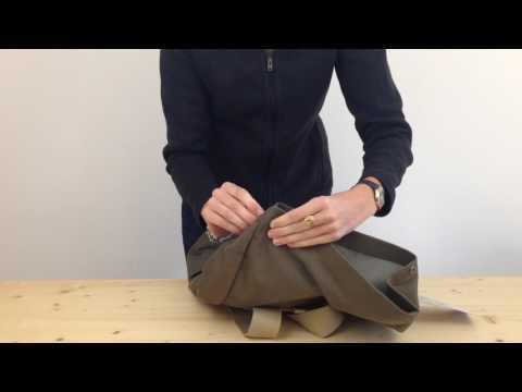 ceb622be8 Brooks England Hackney Backpack - YouTube