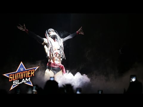 """The Demon"" Finn Bálor puts a twisted take on Bray Wyatt's entrance: SummerSlam 2017 (WWE Network)"