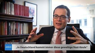 """Immer diese Nazi-Keule"" (JF-TV Interview mit Roger Köppel)"