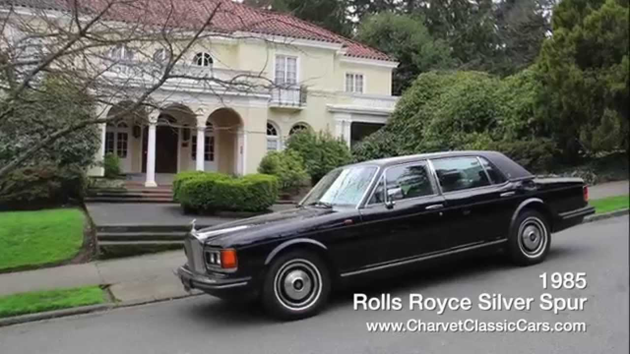 1985 Rolls Royce Silver Spur Just 30,000 Miles. For Sale