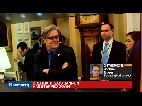 Breitbart Says Bannon Has Stepped Down