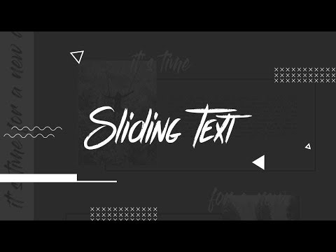 Sliding Text | Scrollbar Animation | CSS - JQUERY Tutorial  2019 thumbnail
