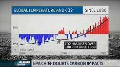 EPA Administrator Doubts CO2 is the Leading Cause of Global Warming