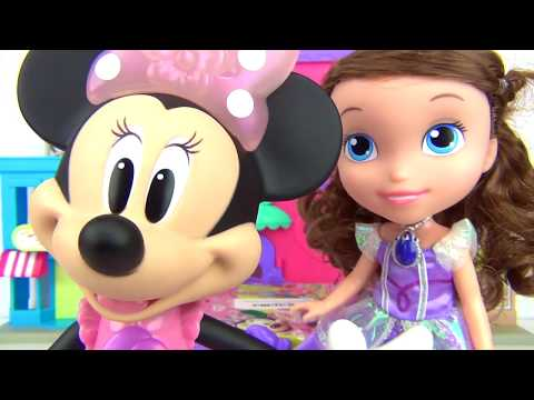 Thumbnail: Disney Jr. MINNIE MOUSE Picnic Basket Playset, Play-doh Princess Sofia the First, Frozen Anna TUYC